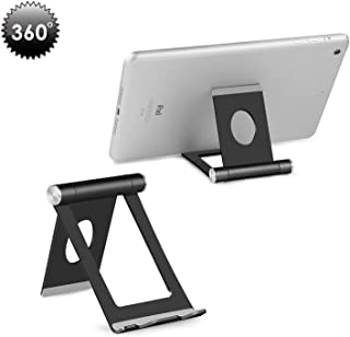 Cell Phone Stand, Yoshine Portable Phone Stand: Full 360° Adjustable Cell Phone Holder Cradle Dock for Phone Xs XR X 8 7 6...