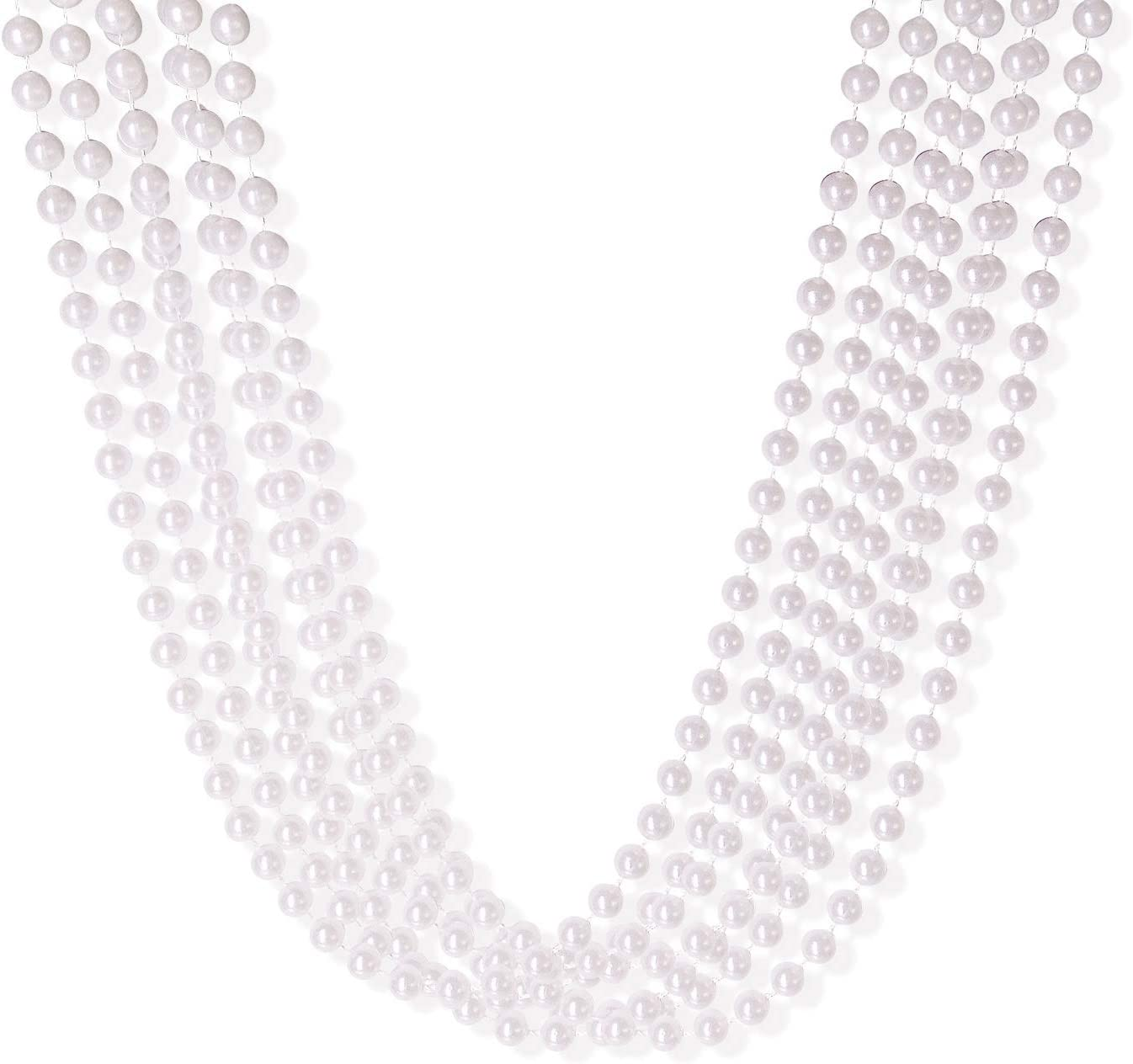 SouilGoal Bead Necklaces 32 Inch 10 Necklace fo Now on sale Round mm Colorado Springs Mall Costume