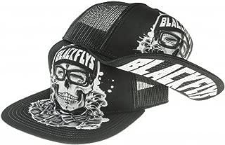 Black Flys Hat Cap Hawaii Plate Cali California Plate Ca Custom Patch Trucker