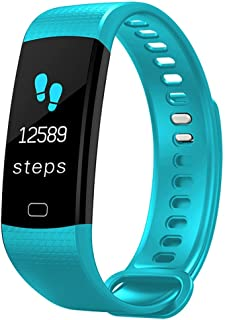 WTYD Smartwear Y5 0.96 inch Color Screen Bluetooth 4.0 Smart Bracelet, IP67 Waterproof, Support Sports Mode/Heart Rate Monitor/Sleep Monitor/Information Reminder, Compatible with Both Android an