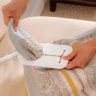 Mind Reader Duvaid The Easy Duvet Cover Changing Accessory - Change Your Duvet Cover by Yourself in Seconds - No Assembly ...
