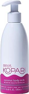 Kopari Coconut Body Milk Moisturizing Lotion | Made with Organic Coconut Oil - 8.45 Oz Pump Bottle