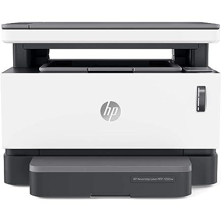 HP Neverstop 1202nw 5HG93A, Stampante Laser A4 Multifunzione con Serbatoio Toner a Ricarica Rapida, Stampa, Copia, Scansione, Wi-Fi, USB, Ethernet, Velocità 20 ppm, HP Smart, HP Smart Task, Bianca