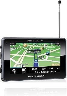 Multilaser Gps Lcd 4,3 Pol. Touch Tv Digital Rádio Fm Tts E-Book - Gp034