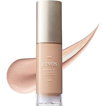 ETVOS(エトヴォス) 化粧下地 ミネラルUVグロウベース SPF37 PA+++ 30g ツヤ肌 乾燥肌 敏感肌 用 ノンケミカル 日焼け止め 透明感 血色感 【メーカー在庫限り】