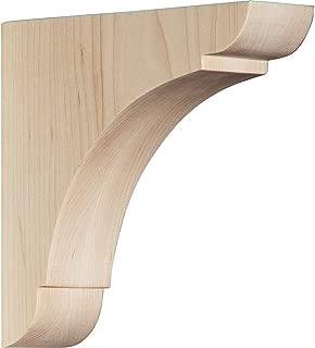 Ekena Millwork BKTW01X06X06OLMA Wood Bracket, 1 3/4