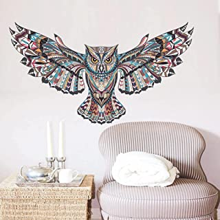 Cartoon Owl Animal Children Baby Bedroom Wall Sticker for Kids Rooms Background Wall Painted Tatoo Home Decor Art Decals