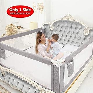 comprar comparacion ZEHNHASE Barandilla de La Cama para bebés, Barrera de cama para niños Colchón doble, doble, tamaño completo tamaño queen y...