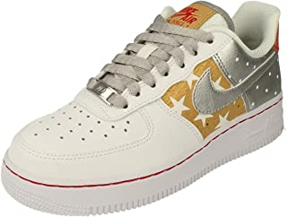 Nike Scarpe da Donna Sneaker Air Force 1 Stars in Pelle Multicolore CT3437-100