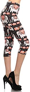 Capri REG/Plus Women's Buttery Popular Prints BAT3