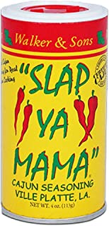 Slap Ya Mama All Natural Cajun Seasoning from Louisiana, Original Blend, MSG Free and Kosher, 4 Ounce