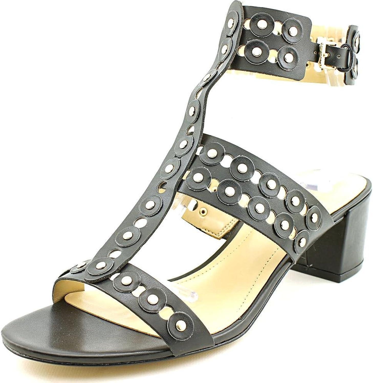 Marc Fisher Jullep Women US 6.5 Black Gladiator Sandal