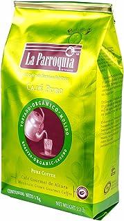 Café de La Parroquia de Veracruz Bolsa de Café Molido Orgánico, 1 kg