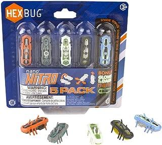 Hexbug Nano Nitro 5 Pack Robot, Assorted