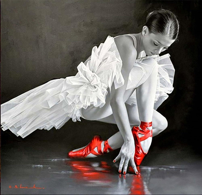 Ballett Tänzer Diamant Malerei 5D DIY Voll Bohren Kunst Harz Strass Tanzen Paste Kreuz Stich Diamant Rot Mosaik Aufkleber Segeltuch Zum Büro Mauer Dekoration , 5050 cm B074XJJVFW | Angemessene Lieferung und pünktliche Lieferung
