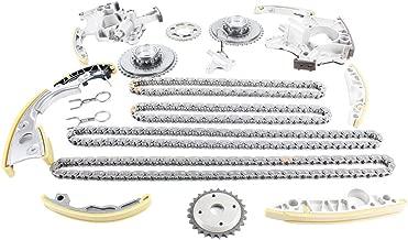 DNJ TK814 Timing Chain Kit for 2005-2009 / Audi / A4, A4 Quattro, A6, A6 Quattro / 3.2L / DOHC / V6 / 24V / 3123cc / BKH
