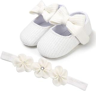 Auxma Chaussures Souples pour Bébé (Fille)