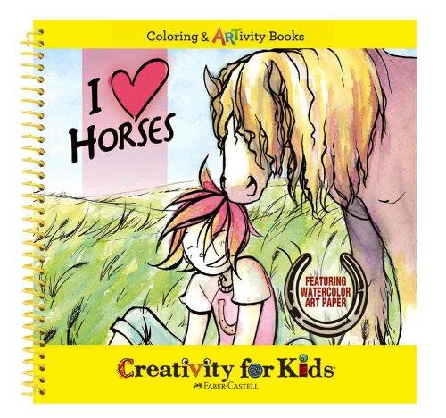 Creativity for Kids - Cfk6003 - Kit De Loisirs Créatifs - J'aime Les Chevaux