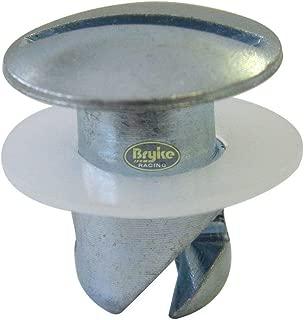 Quarter Turn Undercut Button Steel 7/16