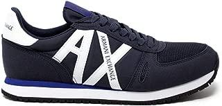 Luxury Fashion | Armani Exchange Mens XUX017XV0288BLUE Blue Sneakers | Fall Winter 19