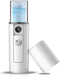 Gezichtssteamer, professionele nano-gezichtsstomer met 20 ml watertank Hydraterende sproeier voor thuis Diepe schone porië...