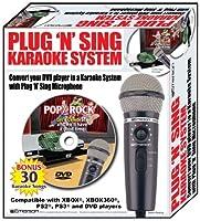 Emerson MM205 Plug N Sing Handheld Karaoke Microphone w/30 Songs