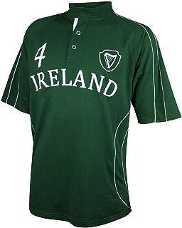 CROKER Green Ireland Spiral Rugby Jersey