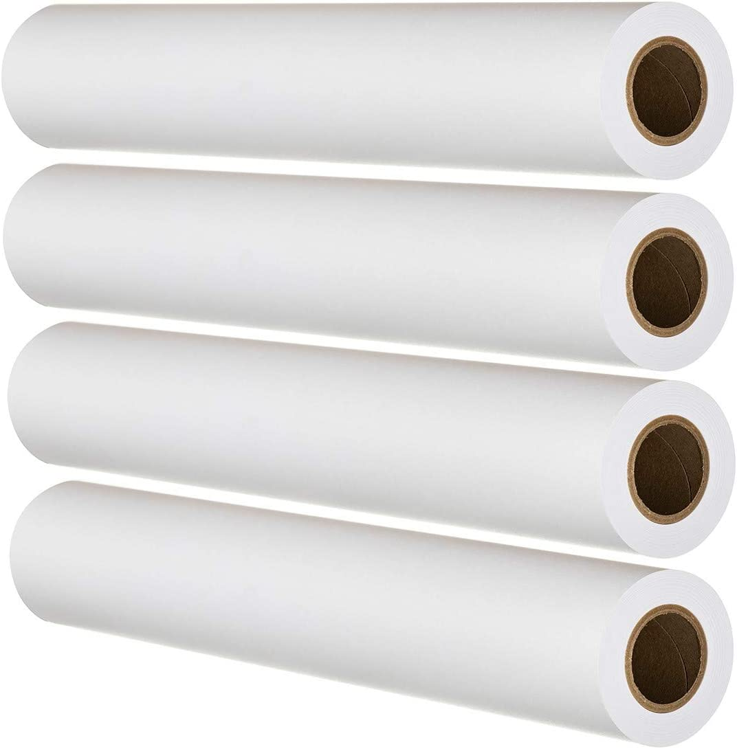 """FHS Retail Super Free shipping Grade CAD Paper 20lb Rolls 24"""" x At the price of surprise 150'"""