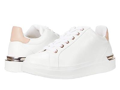 Steve Madden Jaxie Sneaker (White/Natural) Women