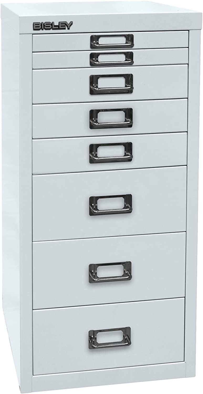 Bisley MultiDrawer™ 29er Serie - DIN DIN DIN A4, 8 Schubladen - lichtgrau   L298645 - Beistellschrank Büroschrank Registraturschrank Schubladenschrank Unterstellschrank B002HHPBJ4 | Großer Verkauf  fe8eea