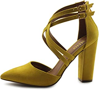 Ollio Womens MG-00H108-2 Pumps-Shoes