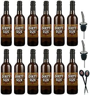 12-Pack Dirty Sue Premium Olive Juice Martini Mix 375ML (12.69oz)