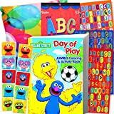 Sesame Street Coloring Book with Stickers (96 Pages)
