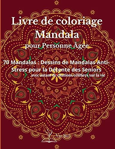 Slowakisch Sprachkurs: Slowakisch lernen für Anfänger (A1/A2). Lernsoftware: Un livre de coloriage pour adultes présentant de magnifiques mandalas ... pour la relaxation des personnes âgées.