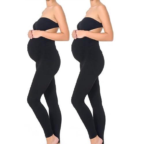 e2e14193c0200f Mothers Essentials Maternity Pregnant Women Leggings