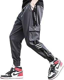 カーゴパンツ メンズ ロングパンツ 九分丈ポケットサルエル ジョガパンツ 大きいサイズ 多機能 おしゃれ ゆったり ズボン 夏秋