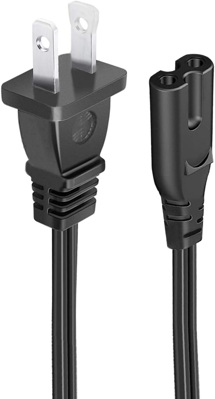 UL Listed 8.2ft Power Cord for Epson Stylus NX420 NX105 NX100 NX200 NX215 NX415 Photo R280 R220 R260 2000 R2000 Surecolor SC-P400 P400 Printer AC 2 Prong Power Cord Supply Cable Replacement