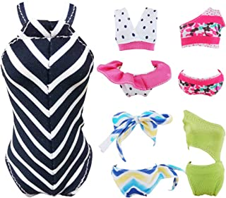 E-TING Swimsuits Doll Clothes Bikini One-Piece Swimsuit for Girl Dolls (Style#A)