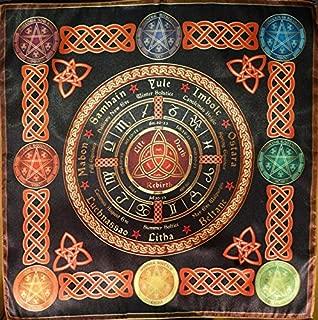 Tablecloth Cape Ritual Wheel of the Year Calendar Small