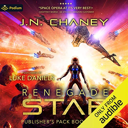 Renegade Star: Publisher's Pack 6 Audiobook By JN Chaney cover art