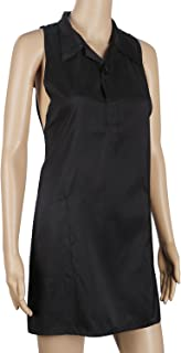 Hairdresser Smock Stylist Vest, Segbeauty Barber Apron Cosmetology Salon Smock for Women Pet Groomers Gown with 2 Pockets, 31.5 inches/80cm Sleveless SPA Salon Uniforms Protective Work Clothes