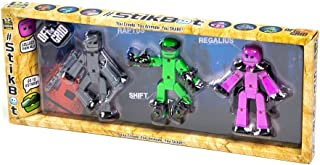 Stikbot Off The Grid 3 Pack - Raptus, Shift & Regalius (Dispatched From UK)