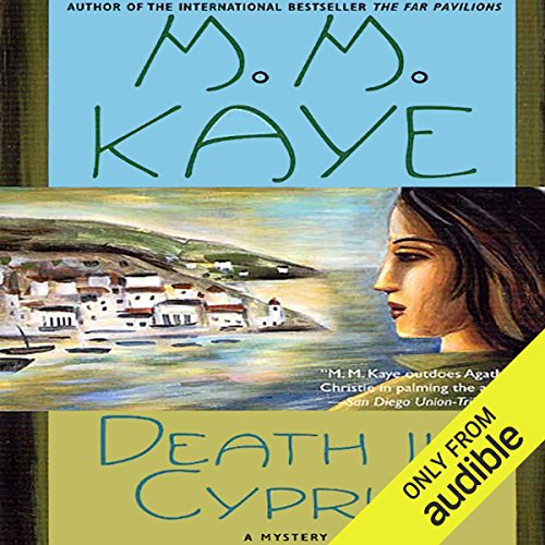 Death in Cyprus audiobook cover art