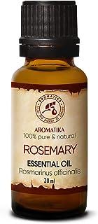 comprar comparacion Aceite Esencial de Romero 20ml - Rosmarinus Officinalis - España - 100% Puro y Natural - Rosemary Essential Oil - Buen Hum...