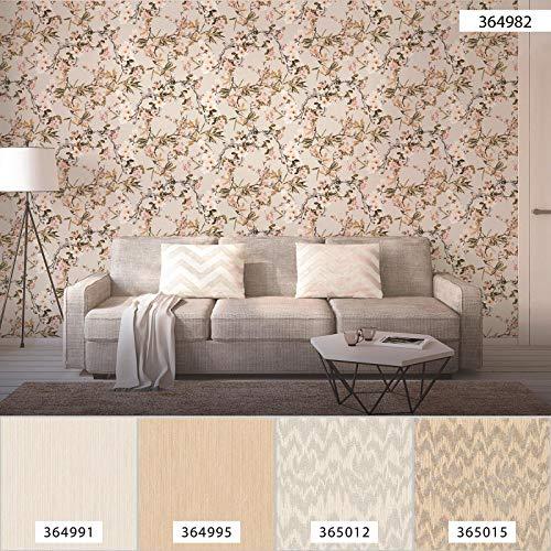 Japanische Kirschblüten-Tapete 364982   Tapete mit Blumen Vögel Shabby Chic Look 36498-2   Vliestapete japanischer Stil für Schlafzimmer, Gästezimmer!