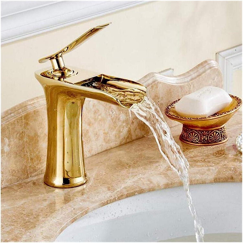Kitchen Bath Basin Sink Bathroom Taps Washbasin Mixer Single Hole and Single Handle Waterfall Basin Mixer Ctzl1350