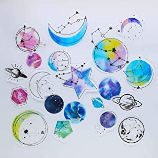 Girl Galaxy Cute Laptop Stickers Notebook Skateboard Motorcycle Bicycle Luggage Guitar Bike Teen Decal 60pcs Pack