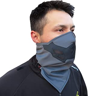 Half Face Mask for Cold Winter Weather. Use this Half Balaclava for Snowboarding, Ski, Motorcycle. (Many Colors)