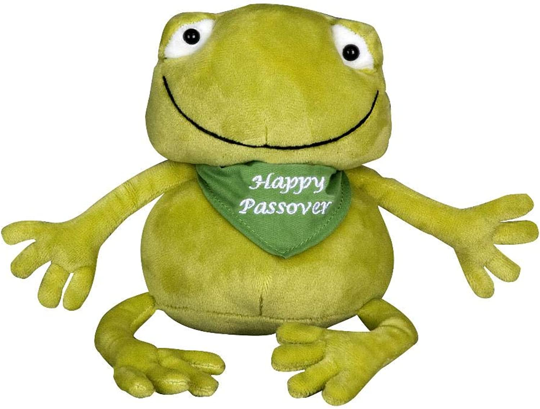 Zionjudaica Large Plush Passover Frog