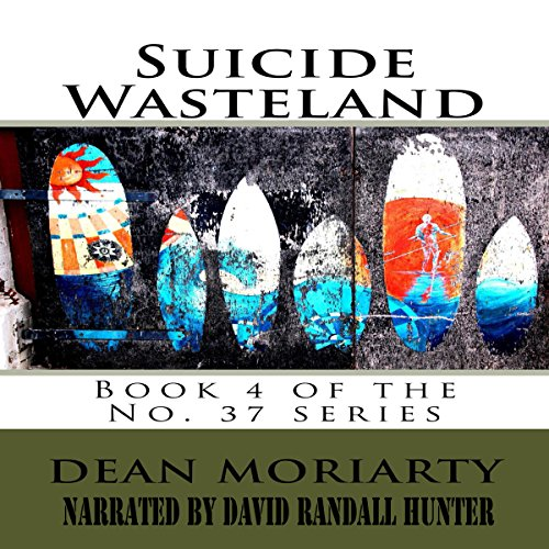 Suicide Wasteland audiobook cover art